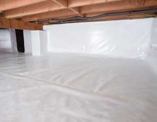 crawl space repair system in Airdrie