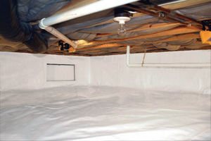 Crawl Space Repair After in Red Deer