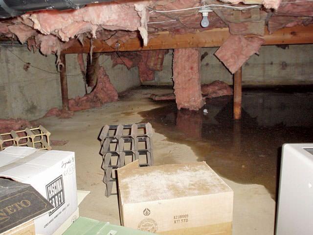 Lighting Basement Washroom Stairs: Crawl Space Insulation & Radiant Heat Barrier Installation