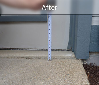 Calgary concrete walkway repair & leveling