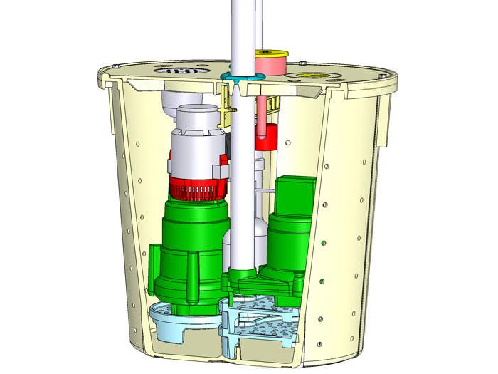 zoeller sump pump systems installation in alberta