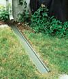 gutter drain extension installed in Torrington, Alberta